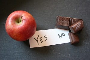Apple v Chocolate