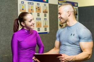 Man & woman at Gym