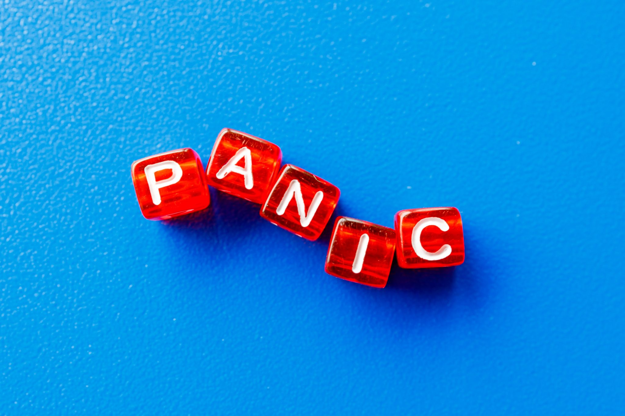 The word panic associated with feR