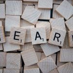 The word learn to symbolise we learn fear